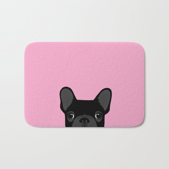 French Bulldog Bath Mat