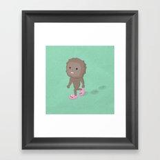 Accidental Legends: Bigfoot Framed Art Print