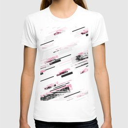 love stripes / black & pink T-shirt