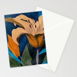 Morning Lilies Stationery Cards