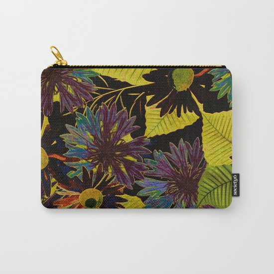 floral Africa Carry-All Pouch