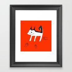we can help you! Framed Art Print