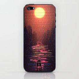 Night Time Rainbow iPhone Skin