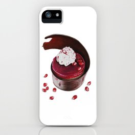 Little cake with pomegranate iPhone Case