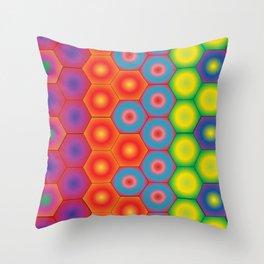 Spectra Hexa Throw Pillow