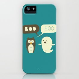 Boo Hoo iPhone Case