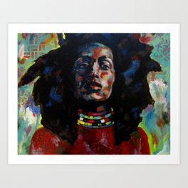 Zuri Art Print