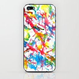 Colors Squirt iPhone Skin