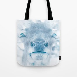 Winter Elk Tote Bag