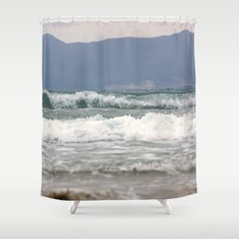 Ocean Waves Shower Curtain