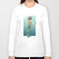 mermaid Long Sleeve T-shirts featuring Mermaid by Eric Persson