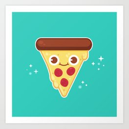 Pizza Party Art Print