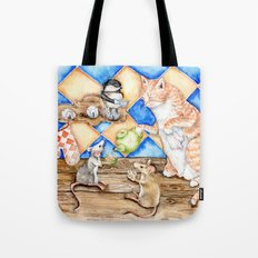 Zoe's Tea Party Tote Bag