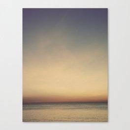 Sunset over the Bay (Villas, NJ) Canvas Print