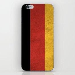 Germany Flag (Vintage / Distressed) iPhone Skin