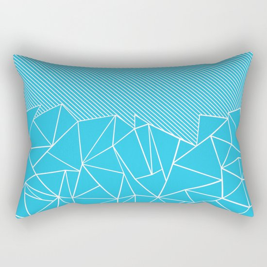 Ab Lines 45 Electric Rectangular Pillow