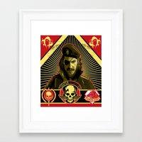 propaganda Framed Art Prints featuring Propaganda by NB1984