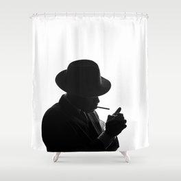 Murderer Shower Curtains