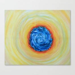 Water Spiral - Andrew Kaminski Art Canvas Print