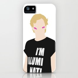 Isak - I Am Illuminati iPhone Case