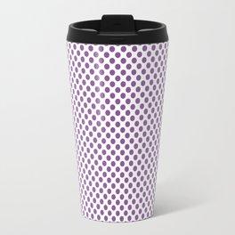 Dewberry Polka Dots Travel Mug