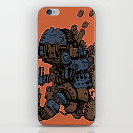 Fistacuffs! iPhone Skin