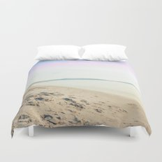 Sand, Sea and Sky - Relaxing Summertime Duvet Cover