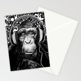 Hear no Evil Stationery Cards