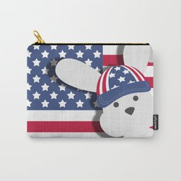 INDEPENDENCE DAY BUNNY Carry-All Pouch