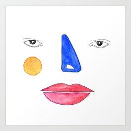 Primary Art Print