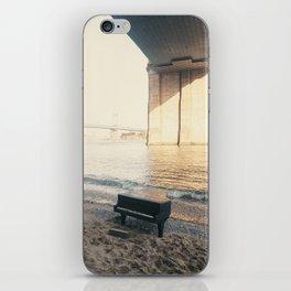 east river piano iPhone Skin