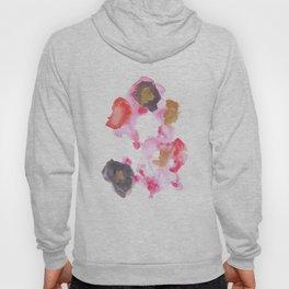 Watercolor Pink Black Flow | [dec-connect] 26. lesion Hoody