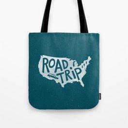 Road Trip USA - reverse Tote Bag
