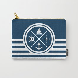 Sailing symbols Carry-All Pouch