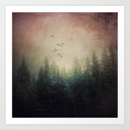 The Forest's Voice Art Print