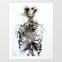 bones Art Prints featuring Bones by dannimarie