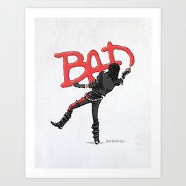 Bad Vandal Art Print