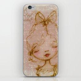 Faith, Trust, and Pixiedust - Glorified Sketch iPhone Skin