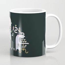 Fashionable Ladies with their Very Exotic Pets Coffee Mug