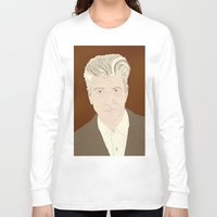 lynch Long Sleeve T-shirts featuring LYNCH by Itxaso Beistegui Illustrations