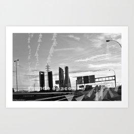 communications Art Print