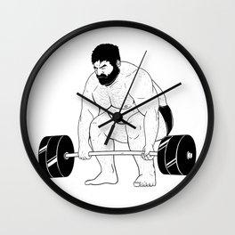 Gym Wall Clock