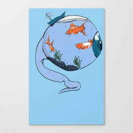 Fishbowl Canvas Print