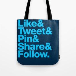 The Social Type Tote Bag