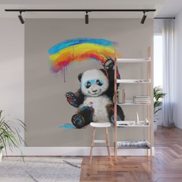 Giant Painter Wall Mural