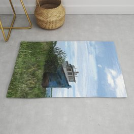 Shipwreck In The Meadow Rug