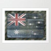 australia Art Prints featuring Australia by Arken25