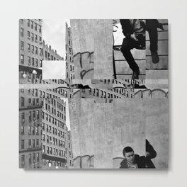Urban Plate Metal Print