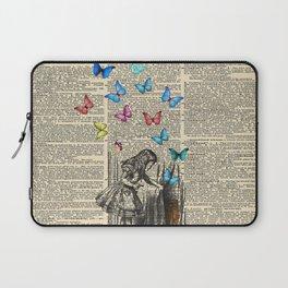 Alice In Wonderland - Let The Adventure Begin Laptop Sleeve