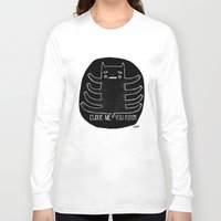 cuddle Long Sleeve T-shirts featuring cuddle me by smaomao